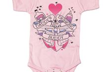 Tattoo Gifts & Party / We have a deep love and appreciation for tattooed mamas and papas.  You ladies are absolutely beautiful!  We also know that your little ones are too young to partake, but they aren't too young for our tragically hip tattoo themed gifts, tees and accessories!