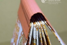 Book Making / Book-making is a great skill to learn. Make your own journals, scrapbooks and more by learning Asian, japanese, and other bookbinding methods.