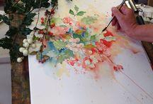 Aquarellen / Bloemen