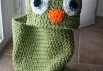 Crochet: newborn cocoon - sacco neonato