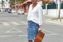 pollera jeans