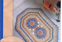 tapetes em croche / by TELMA GALDINO