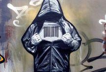 Graffiti / Street art of AWES!!