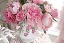compositions roses pots anciens