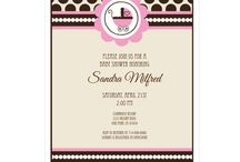 Baby Girl Shower Invitations / Unique and trendy baby shower invitations for girls. Adorable designs to coordinate with any theme. Invitations are always 15% off MSRP. Quantity discounts also available.