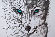 Tatuaggi di lupi