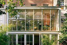 Jardines invernaderos exteriores