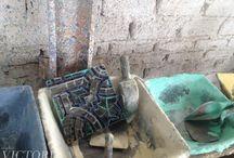 Artesanal / Fabricación de mosaico de pasta de cemento - Cement tile