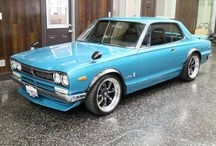 Japanese Retro Car