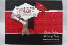 Graduation / Graduation, Gift Card Holders, Stampin' Up!, rubberstamping, handmade gifts, glendasblog, thestampcamp, Graduation party favors, Graduation cards