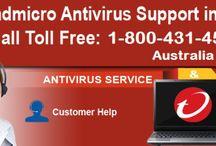 Trend Micro Antivirus Support Number 1-800431454 Australia