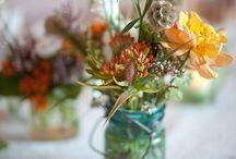 Mason Jar Ideas / Simple ideas for a country/garden wedding