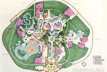 Disneyland Paris concept et construction