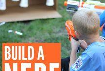 Nerf gun play