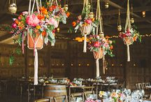 Floral chandeliers / Hanging flower