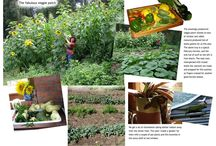 Chantelles green fingers - Burgens muddy boots / We  both have a great love for the flower and vegtable gardens!