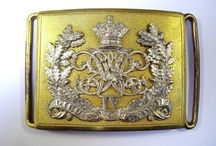 British Regimental Belt Plates