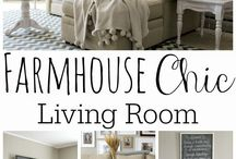 Grace lee / Farmhouse &chic living room
