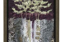 Arte tessile...paesaggi e natura