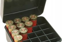 """MTM Shotgun Shell Boxes / MTM Shotgun Shell Boxes. The S25D holds 25 shotshells in the down position. The removable tray is for 20 gauge and can be discarded. With the tray out, the box it will hold up to 3"""" 12 and 16 gauge shells."""