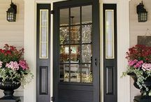 Front door flair / by Peggy Hogan