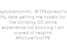 #PictureThisTPE: Valentines stories  / Valentines day is just around the corner. To be in with a chance of winning a night's stay at the Double Tree Hotel in Sheffield, we want to hear your best [and worst] date stories. Tweet them to us at @TPExpressTrains and include the hashtag #PictureThisTPE to be in with a chance of winning. Competition ends Friday 8th February. Terms and conditions apply: http://bit.ly/O5iAxJ  / by First TransPennine Trains