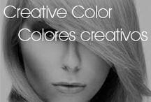 Bold & Creative Hair Colors / Colores Creativos