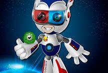 mascota robot
