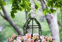 Floral candelier