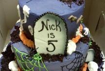 Nicholas 7th Birthday / Scary, Halloween, Fun / by Mari