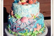 Deep Sea / Baby party cake