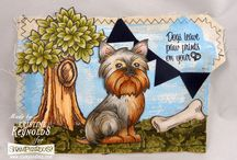 Stampendous and Linnie Blooms