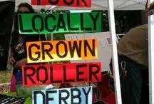 Roller derby fundraising