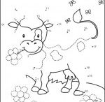 Dot to dot worksheets / This page has dot to dot worksheets for preschooler. They can learn and enjoy with these sheets.