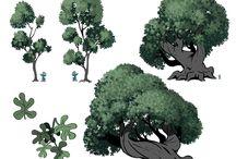 Nature drawings