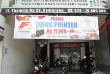 Pusat Tinta Semarang / Punya bisnis di bidang percetakan, advertising/sejenisnya? Yuk, lengkapi kebutuhan cetak Anda dengan produk F1 Ink. (https://www.facebook.com/F1Ink)   Pusattinta.com Semarang Address : Jl. Thamrin no. 22 Semarang  Phone : 024 - 70 800 300 / 024 - 355 2389