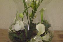 De Bloemendeel, diverse bloemstukken / Tijdens een cursus of een workshop kan je verschillende bloemstukken maken