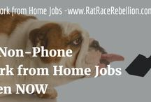 Non-Phone Work from Home Jobs