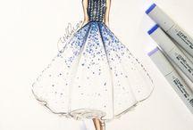 Fashion illustration for kids
