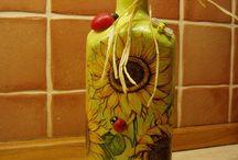 Ž fľaše art