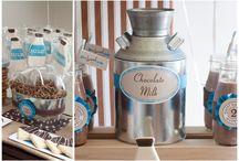 milk and cookies party / by Rachel Wetzel
