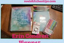 Planning & Personal Development ~ My Erin Condren Planner / Planning & Organization for Moms -Free Printables, fun stickers, anything I can use in my planner to help me stay on track.