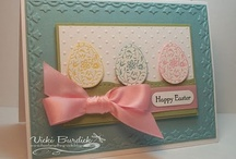 Stampin Up - Easter & Spring / by Kathy Steplyk