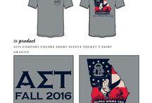 Alpha Sigma Tau / Alpha Sigma Tau custom shirt designs #alphasigmatau #ast  For more information on screen printing or to get a proof for your next shirt order, visit www.jcgapparel.com