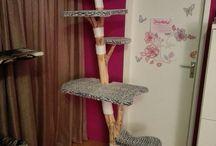 Kratzbaum Echtholz Kratzbäume selbst gebaut