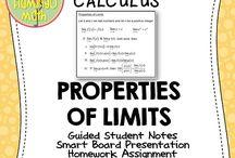 Limits & Math