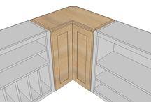 Kuchyně, nábytek a ostatní / stavba, konstrukce, architektura kuchyně a nábytkz