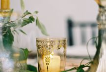 Wedding table decor / Wedding