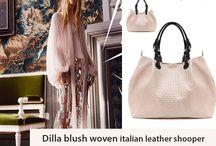 Marla Fiji - Dilla soft woven - Italian leather bag