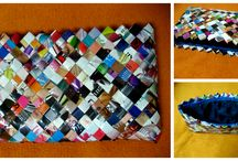 Sac en papier / Handmade Bags Paper Bags Recyclable Accesories